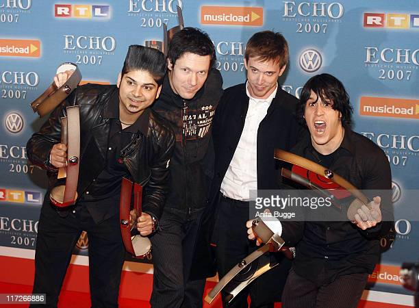 Billy Talent during 2007 Echo Awards Press Room at Palais am Funkturm in Berlin Berlin Germany