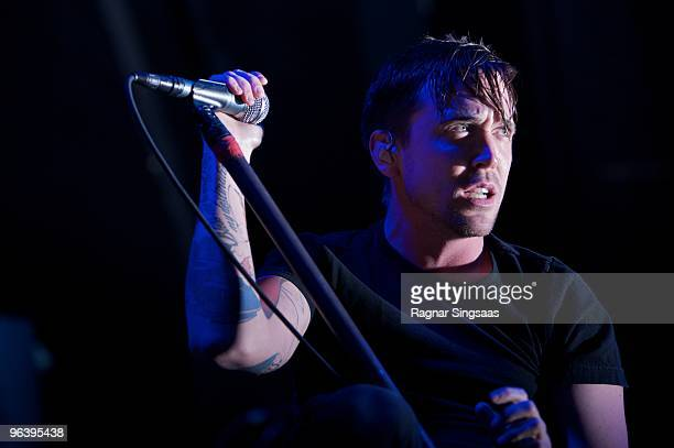 Billy Talent performs at Sentrum Scene on February 3 2010 in Oslo Norway