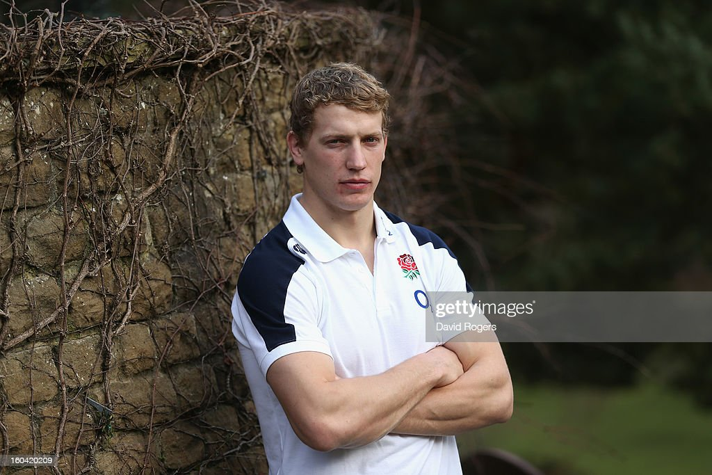 <a gi-track='captionPersonalityLinkClicked' href=/galleries/search?phrase=Billy+Twelvetrees&family=editorial&specificpeople=6175351 ng-click='$event.stopPropagation()'>Billy Twelvetrees</a> of England poses after an England training session at Pennyhill Park on January 31, 2013 in Bagshot, England.