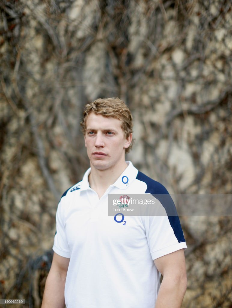 <a gi-track='captionPersonalityLinkClicked' href=/galleries/search?phrase=Billy+Twelvetrees&family=editorial&specificpeople=6175351 ng-click='$event.stopPropagation()'>Billy Twelvetrees</a> of England poses for a portrait during the England training session at Pennyhill Park on February 8, 2013 in Bagshot, England.