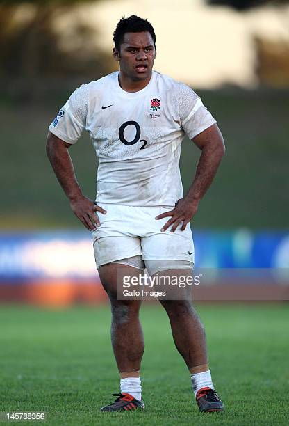 Billy Vunipola from England during the IRB U/20 Junior World Championship match between England and Italy at the University of the Western Cape on...
