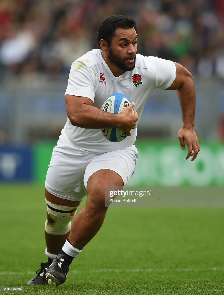 Billy Vunipola of England during the RBS Six Nations match between Italy and England at Stadio Olimpico on February 14 2016 in Rome Italy