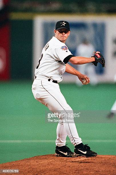 Billy Wagner of the Houston Astros during the game against the Los Angeles Dodgers on September 13 1997 at the Astrodome in Houston Texas