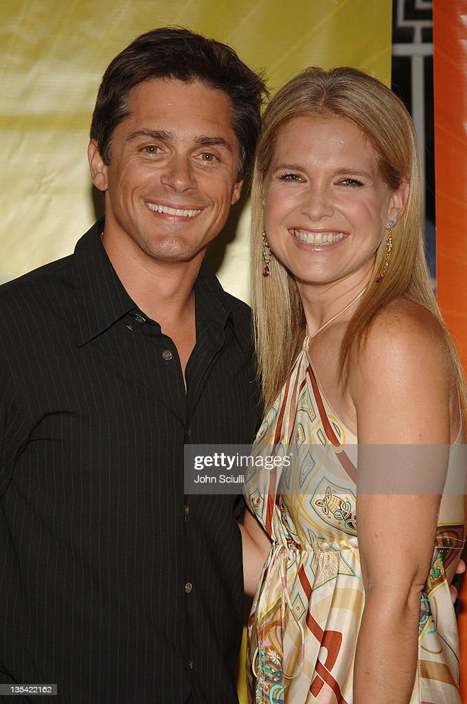 Billy Warlock and Melissa Reeves during 2005 NBC Network All Star Celebration Arrivals at Century Club in Los Angeles California United States