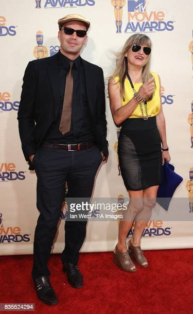 Billy Zane and Catherine Hardwicke arriving for the MTV Movie Awards at the Gibson Amphitheatre Universal City Los Angeles The 2009 MTV Movie Awards...