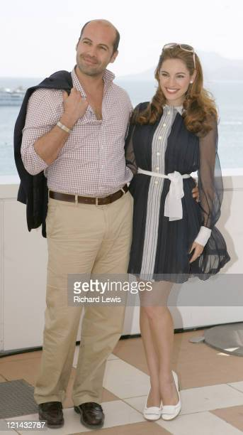 Billy Zane and Kelly Brook during 2007 Cannes Film Festival 'Fishtales' Photocall at Hilton Hotel in Cannes France