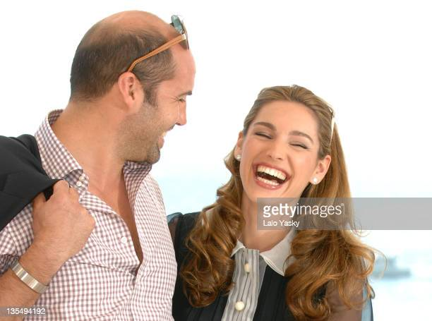Billy Zane and Kelly Brook during 2007 Cannes Film Festival 'Fishtales' Photocall at Palais de Festival in Cannes France