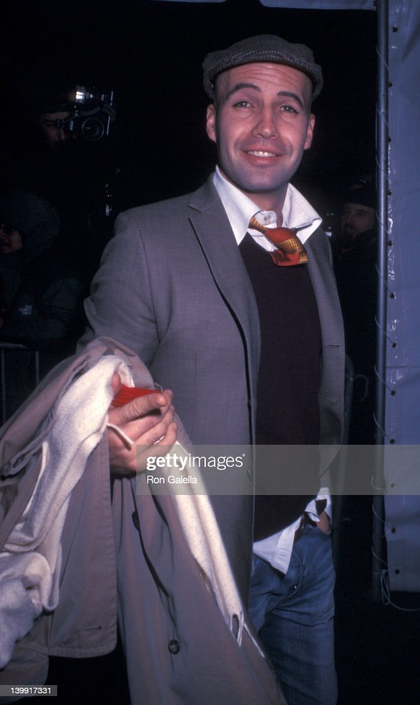 Billy Zane at the Premiere of 'Gangs of New York', Ziegfeld Theater, New York City.