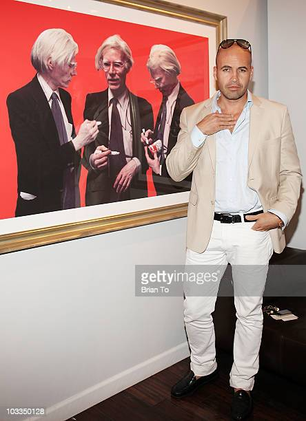 Billy Zane attends photographer Tasya Van Ree's new exhibition 'Untitled Project' opening at the Celebrity Vault on August 11 2010 in Beverly Hills...