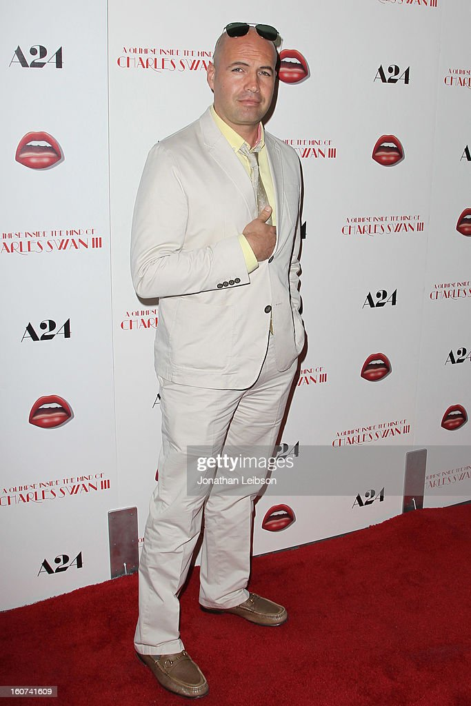 Billy Zane attends the 'A Glimpse Inside The Mind Of Charlie Swan III' Los Angeles premiere at ArcLight Hollywood on February 4, 2013 in Hollywood, California.