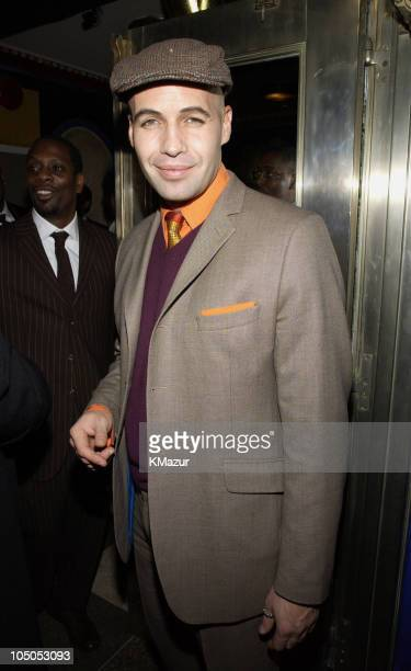 Billy Zane during Sean 'P Diddy' Combs Birthday Party at The Supper Club at The Supper Club in New York City New York United States