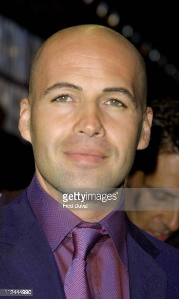 Billy Zane during 'The Matrix Reloaded' London Premiere at Odeon Leicester Square in London Great Britain