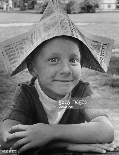 Billy Zint Mugs for Photographer The youngster whose full name is William Leroy Zint 7751 S Race St Littleton made his own hat Credit Denver Post