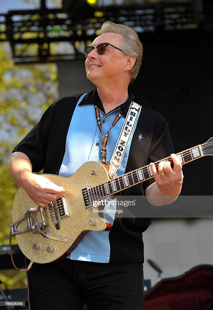 Billy Zoom of X performs on Day 1 of the BottleRock Napa Valley Festival at Napa Valley Expo on May 9, 2013 in Napa, California.