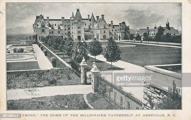 Biltmore the Home of the Millionaire Vanderbilt At Asheville North Carolina 1924