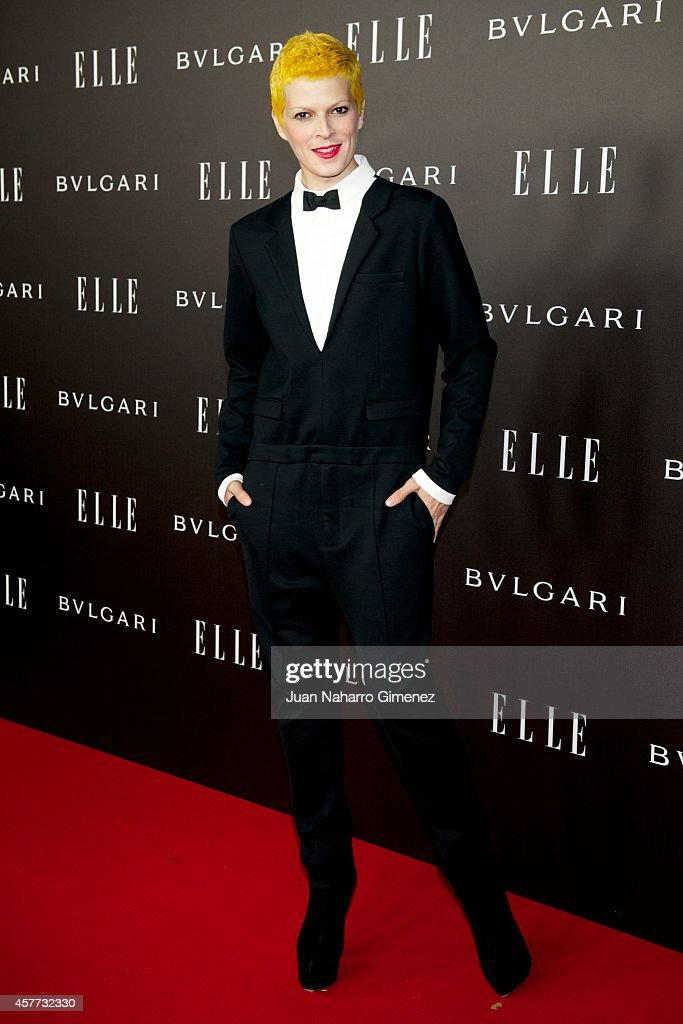 Bimba Bose attends Elle Style Awards 2014 photocall at Italian Embassy on October 23, 2014 in Madrid, Spain.
