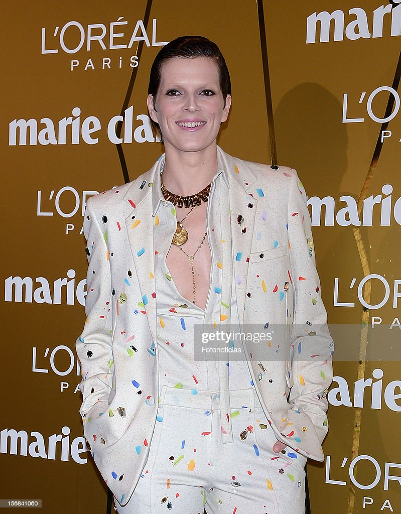 Bimba Bose attends 'Marie Claire Prix de la Mode 2012' ceremony at the French Ambassadors Residence on November 22, 2012 in Madrid, Spain.