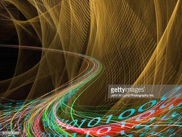 Binary code and stream of data