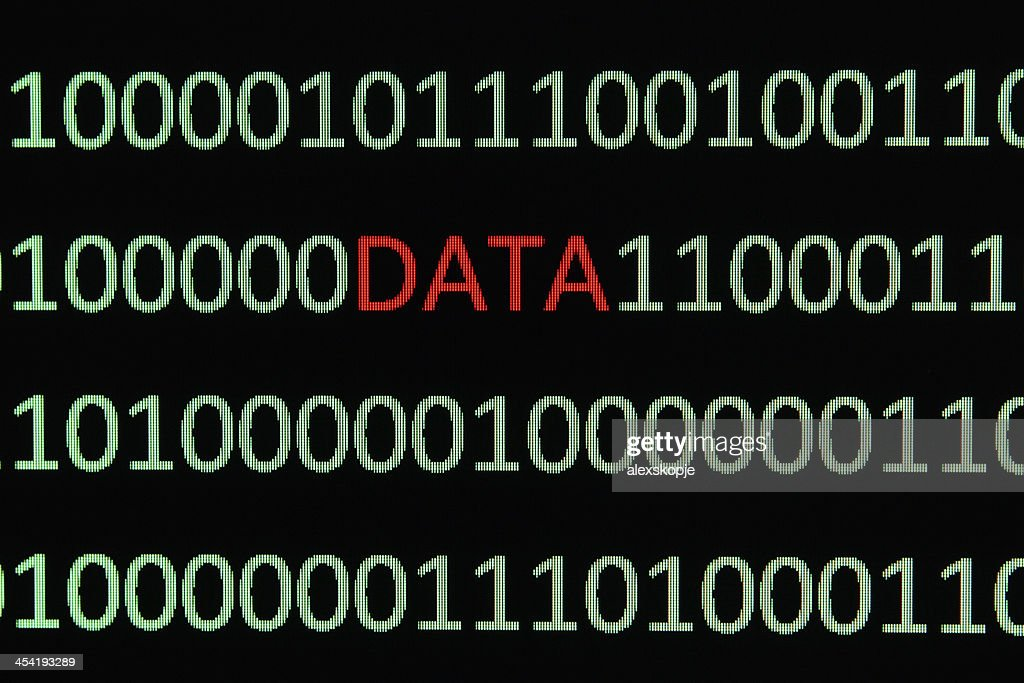 binary data : Stock Photo