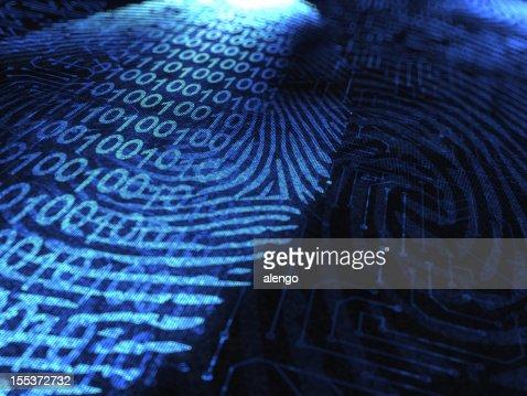 Impressão digital Binária