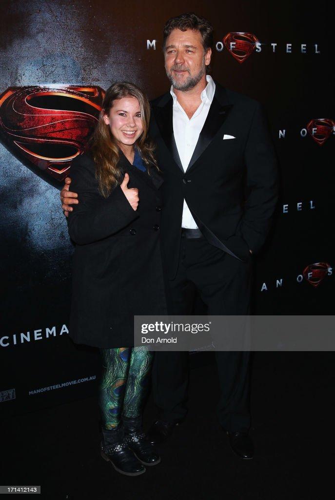 """""""Man Of Steel"""" Australian Premiere"""