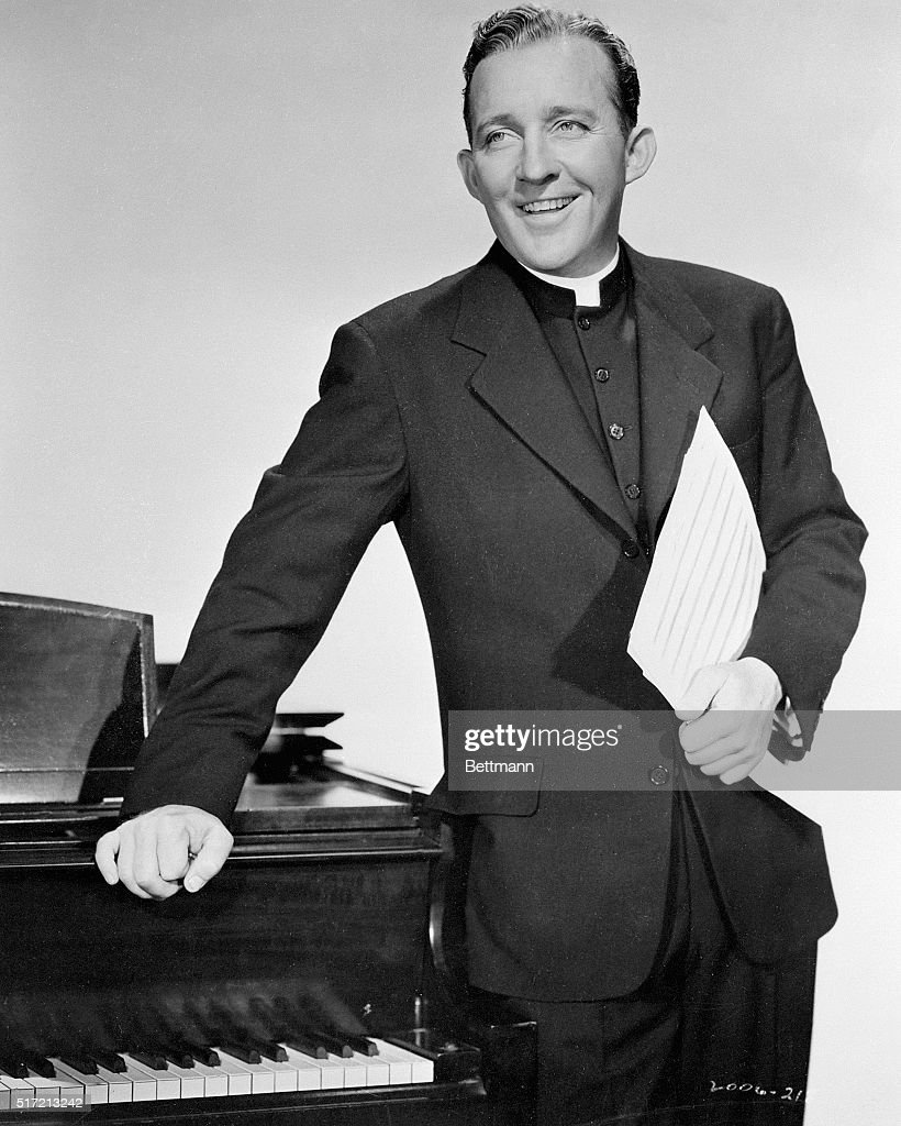 Bing Crosby as Father Chuck O'Malley in the movie Going My Way.