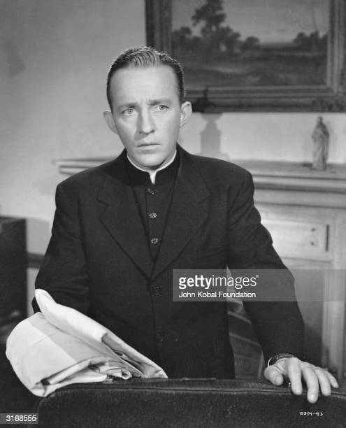 Bing Crosby plays Father Chuck O'Malley in 'The Bells of St Mary's' directed by Leo McCarey