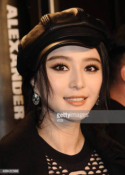 Bingbing Fan attends Alexander Wang x HM launch event on November 4 2014 in Shanghai China