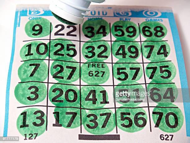 Bingo Card and Dobber