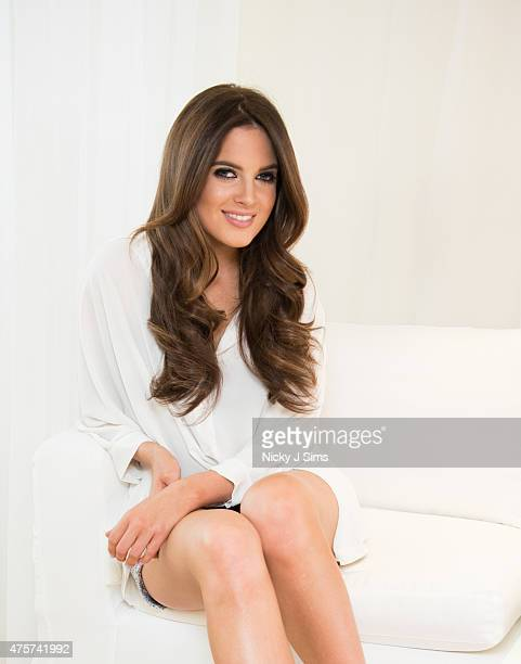 Binky Felstead Ambassador for the Easilocks 'Hair Hero' attends the launch event at The Sanderson Hotel on June 3 2015 in London England