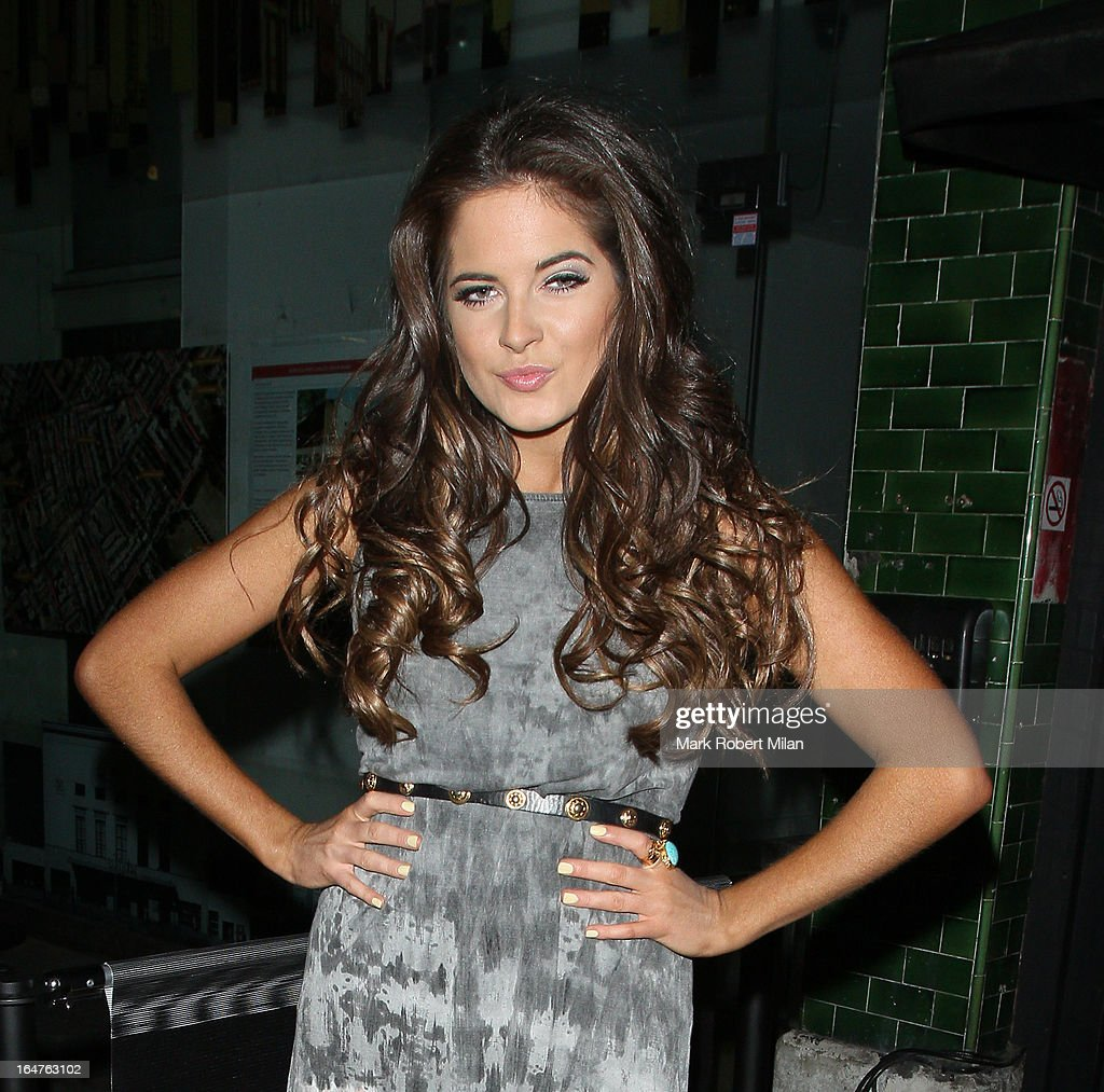 Binky Felstead at 151 Kings Road on March 27, 2013 in London, England.