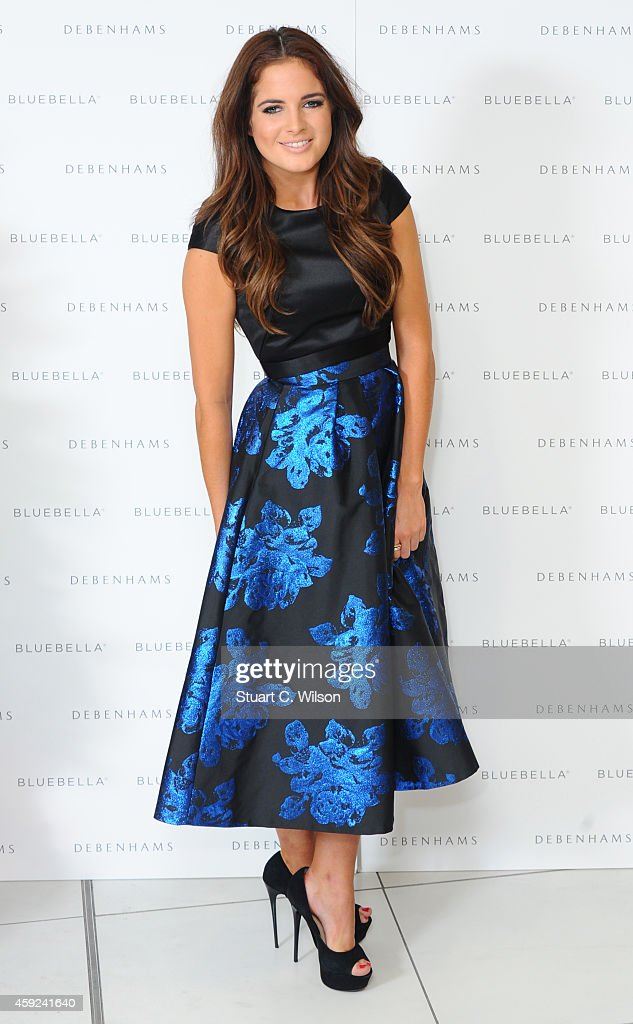 Binky Felstead Launches Bluebella Lingerie At Debenhams