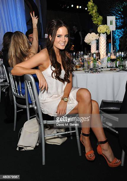 Binky Felstead attends Spectrum 2014 an annual fundraising event in support of the National Autistic Society to launch World Autism Awareness Month...