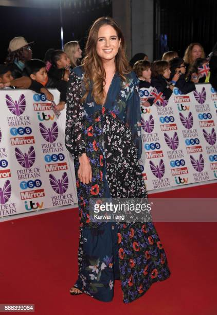 Binky Felstead attends the Pride Of Britain Awards at the Grosvenor House on October 30 2017 in London England