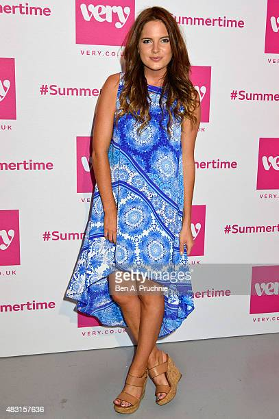 Binky Felstead attends the Verycouk Summertime party at Vinyl Factory @ Phonica Records on August 6 2015 in London England