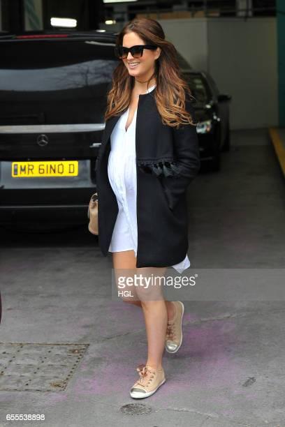 Binky Felstead seen at the ITV Studios on March 20 2017 in London England