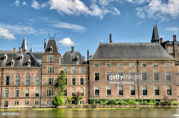Binnenhof with the Hofvijver - The Hague