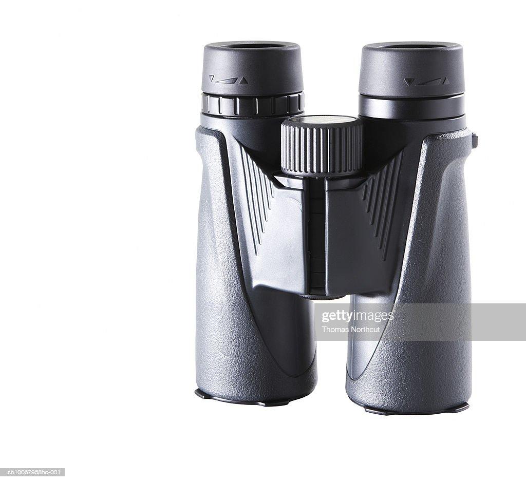 Binocular on white background : Stock Photo