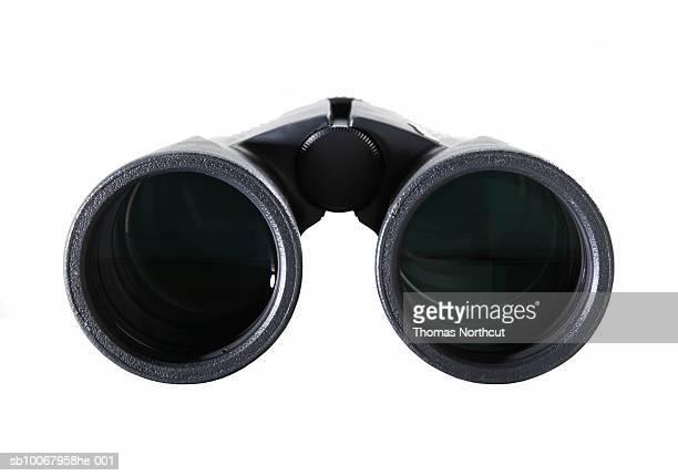 Binocular on white background