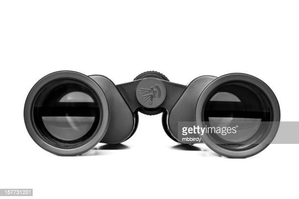 Binoculars, isolated, clipping path