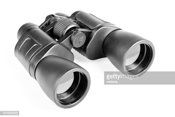 Binoculars, isolated on white background