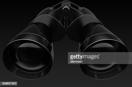 Binoculars Isolated : Stock Photo