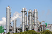 A bio-ethanol plant in Rotterdam, Netherlands