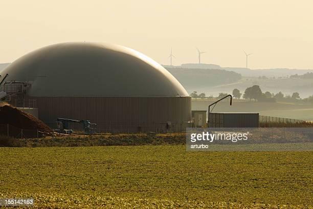 bio gas power plant und wind-Generatoren für alternative energy