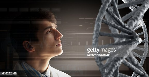 Biochemistry study and research . Mixed media : Stock Photo