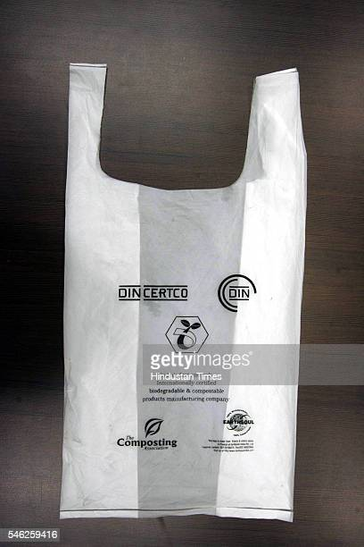 Biodegradable and compostable bag which is an alternative for plastic bag