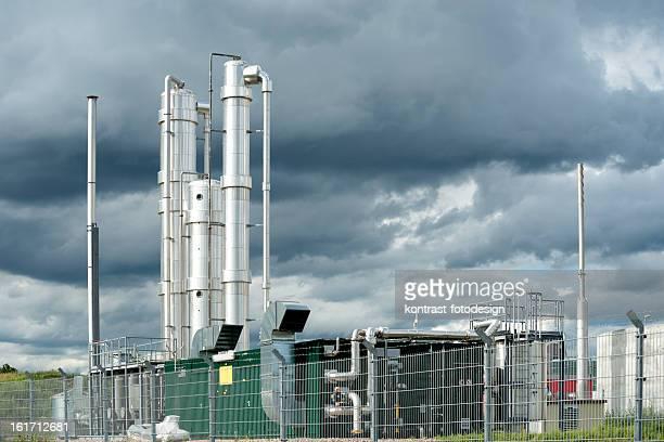Bioenergie, Biogas fahren, Blockheizkraftwerk, Energiewende, Deutschland