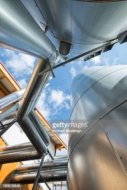 Bioenergie, Biogas fahren, Buffer Schiff, Pufferspeicher, Blockheizkraftwerk, Energiewende, Deutschland