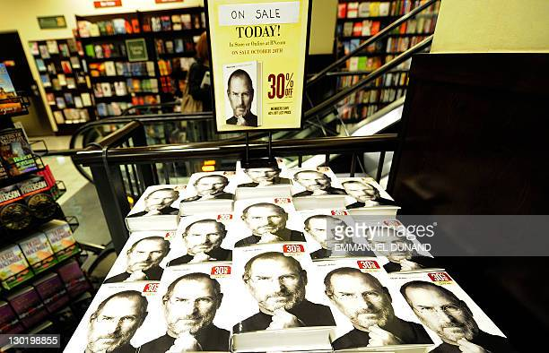 A biography of Apple cofounder Steve Jobs is on display at a bookstore in New York October 24 2011 The eagerly awaited biography of Apple cofounder...