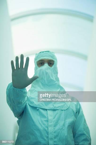 Biohazard, conceptual image